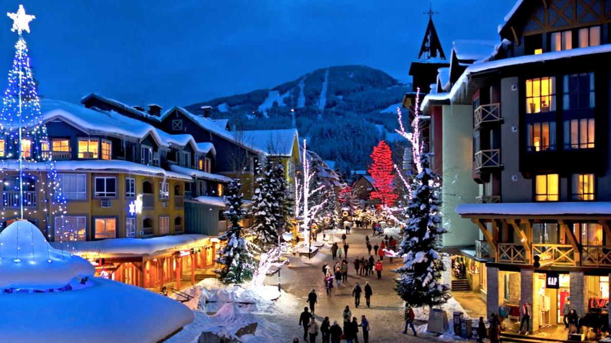 Ski in and out of Glacier Lodge in the heart of Blackcomb Upper Village in Whistler, Canada.